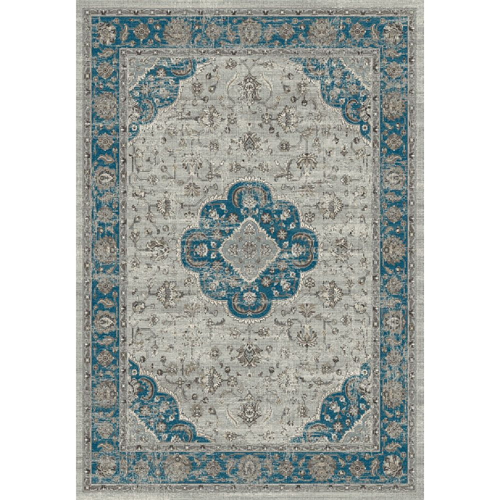 Dynamic Rugs 88910-5989 Regal 2 Ft. 2 In. X 7 Ft. 7 In. Runner Rug in Blues