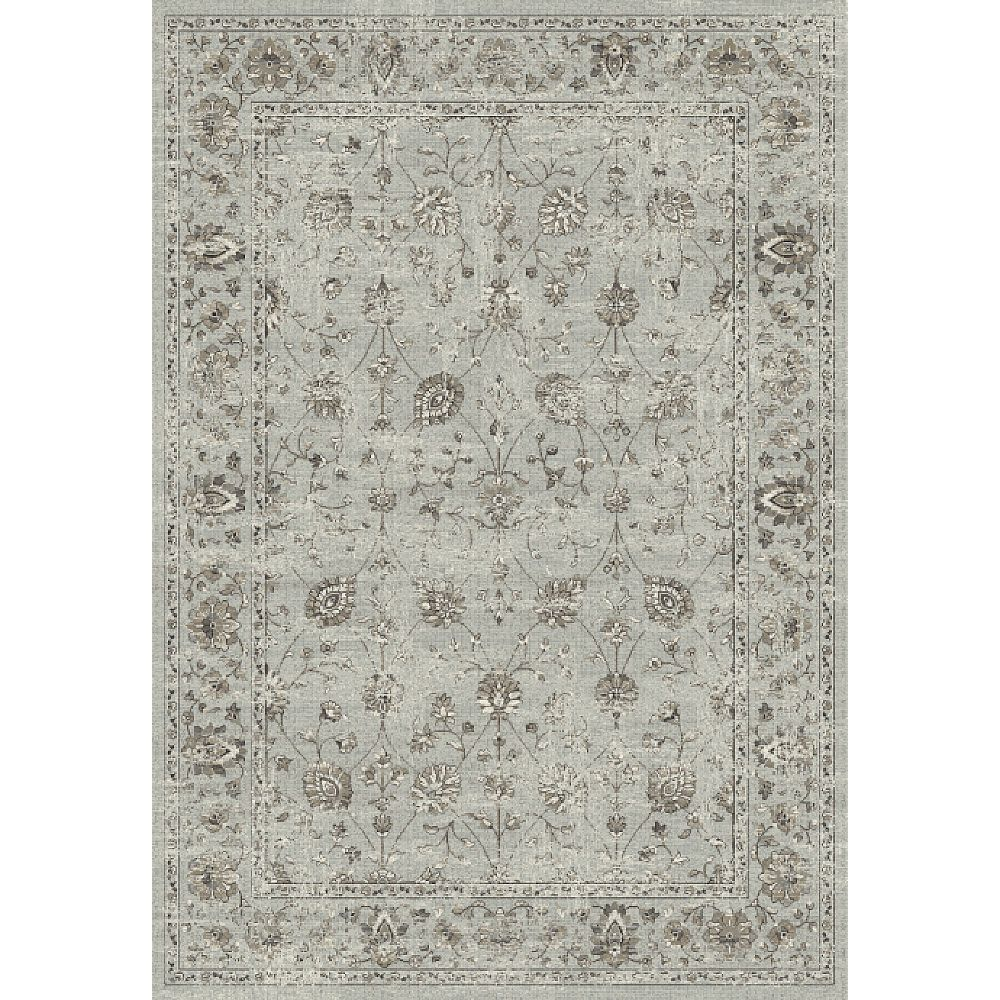 Dynamic Rugs 88912-5959 Regal 2 Ft. 2 In. X 7 Ft. 7 In. Runner Rug in Grays