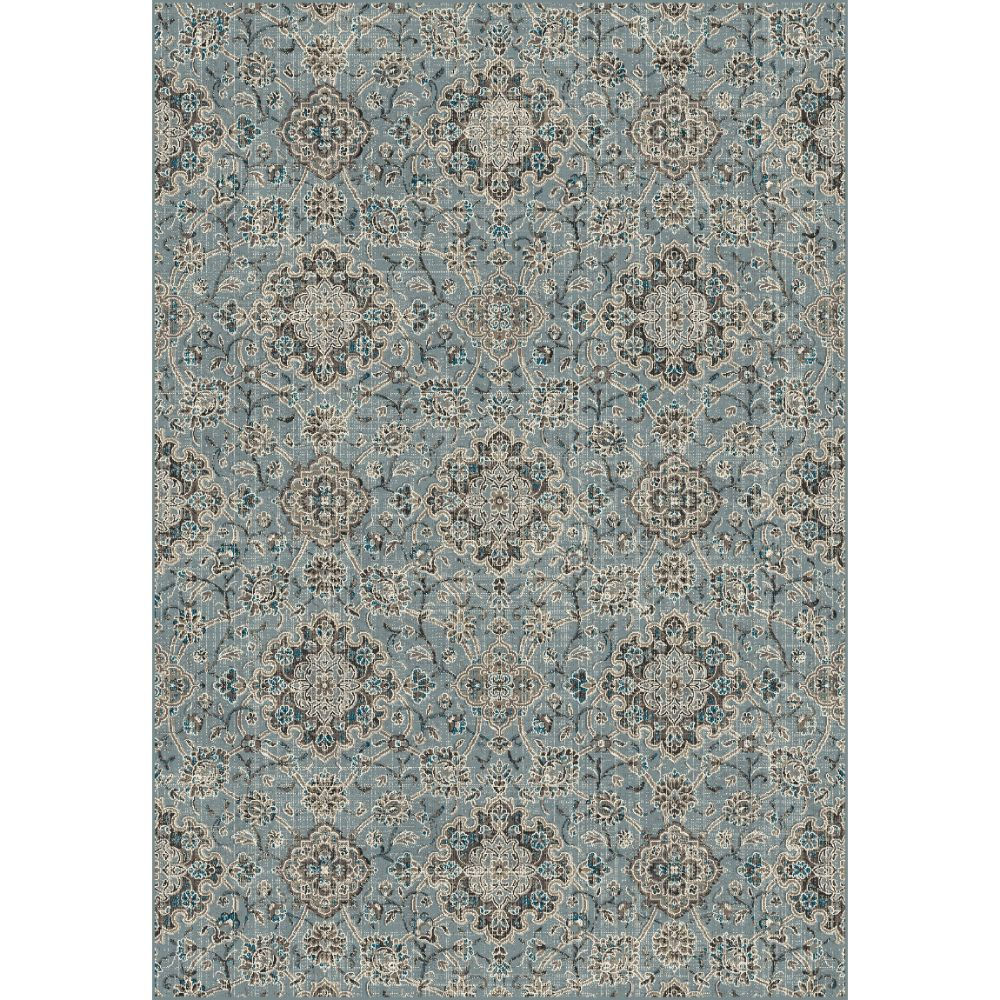 Dynamic Rugs  89665-4929 Regal 2 Ft. X 3 Ft. 5 In. Rectangle Rug in Blue/Taupe