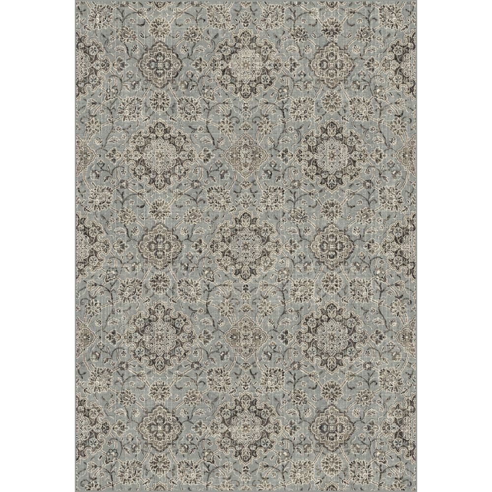 Dynamic Rugs  89665-5929 Regal 2 Ft. X 3 Ft. 5 In. Rectangle Rug in Silver/Blue