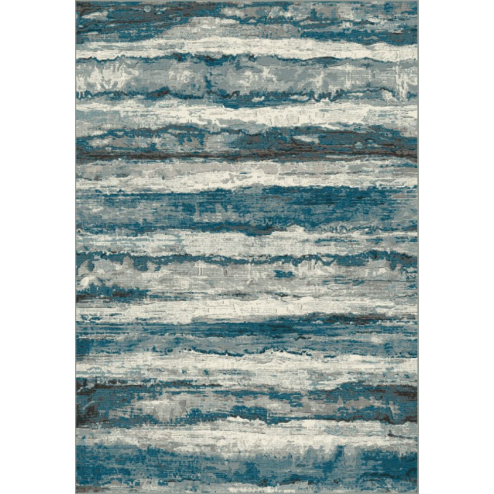 Dynamic Rugs 89801 5989 Regal 2 Ft. X 3 Ft. 5 In. Rectangle Rug in Blue/Grey