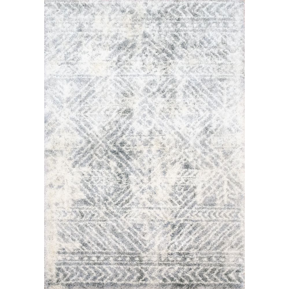 Dynamic Rugs 3545 Reverie 3 Ft. 11 In. X 5 Ft. 7 In. Rectangle Rug in Cream / Grey
