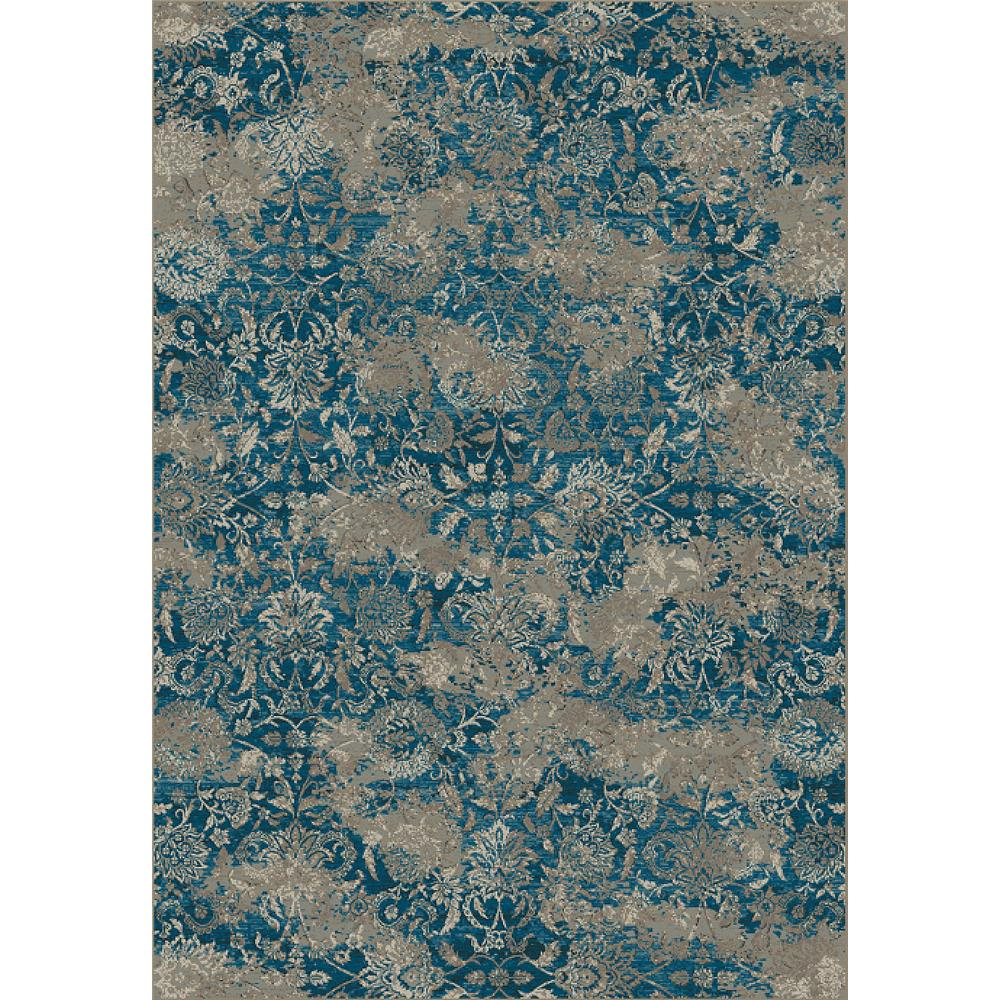 Dynamic Rugs 89365-8929 Regal 7 Ft. 10 In. X 10 Ft. 10 In. Rectangle Rug in Blues