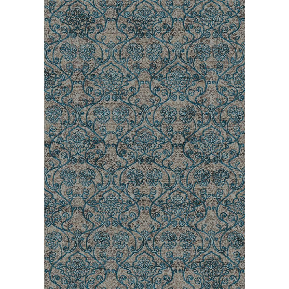 Dynamic Rugs 89656-5989 Regal 7 Ft. 10 In. X 10 Ft. 10 In. Rectangle Rug in Blues