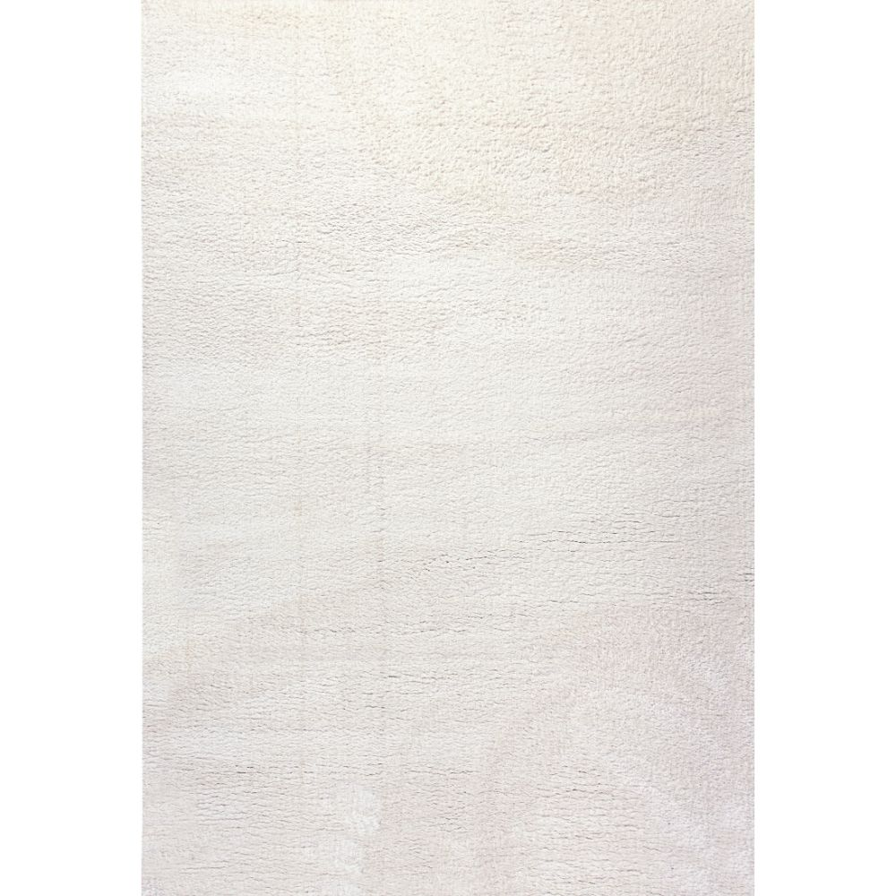 Dynamic Rugs 5900-100 Silky Shag 2 Ft. X 3 Ft. 3 In. Rectangle Rug in Ivory