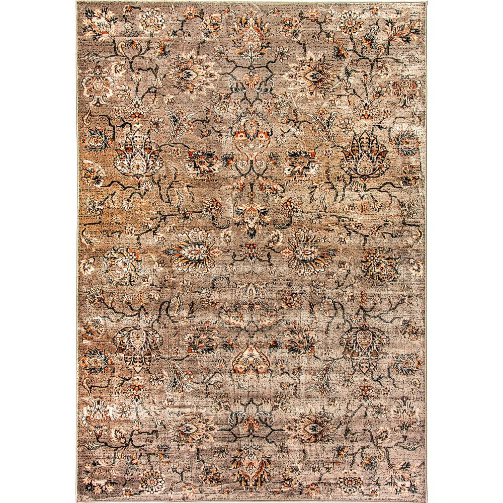 Dynamic Rugs  1558-688 Venice 2 Ft. X 3 Ft. 5 In. Rectangle Rug in Light Grey