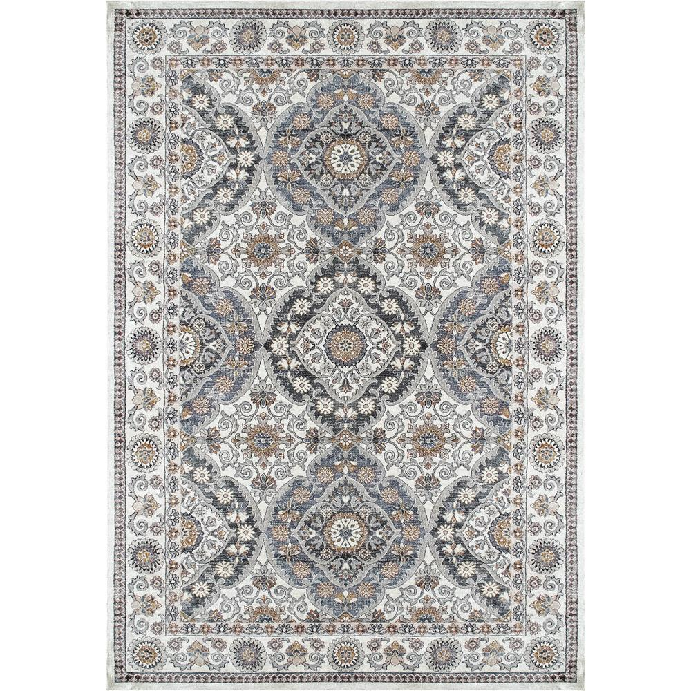 Dynamic Rugs  1578-105 Venice 2 Ft. X 3 Ft. 5 In. Rectangle Rug in Cream/Blue