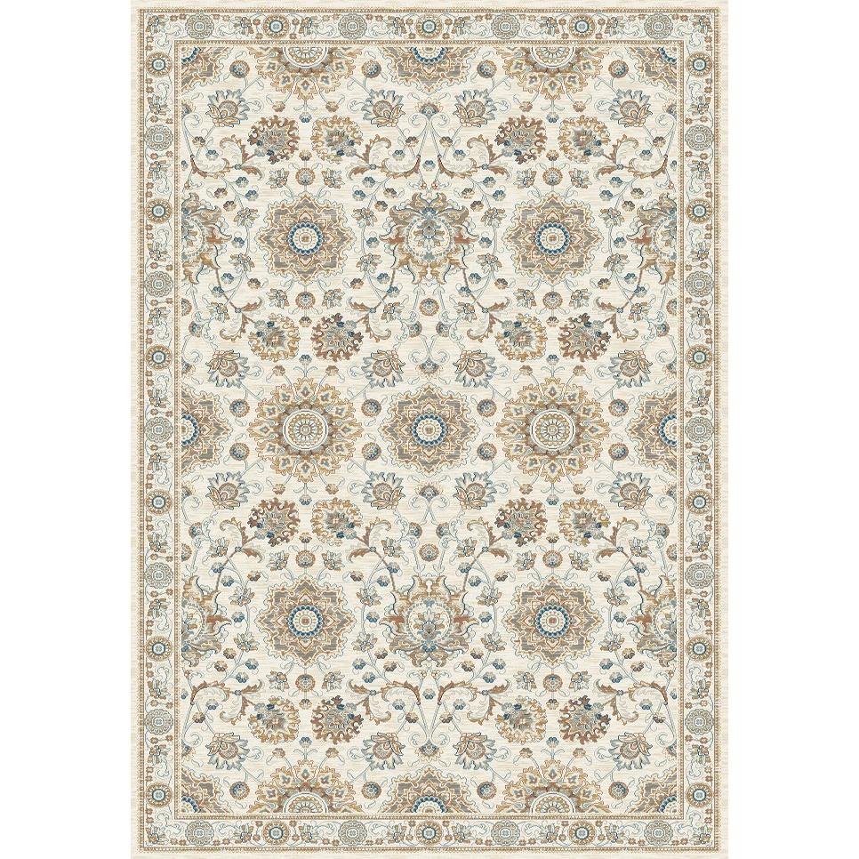 Dynamic Rugs  1678-109 Venice 3 Ft. 6 In. X 5 Ft. 6 In. Rectangle Rug in Cream/Grey
