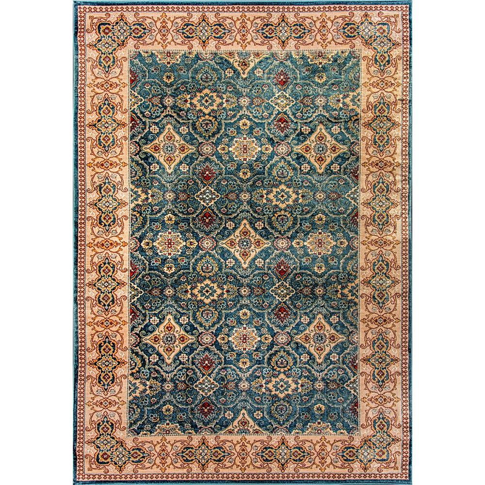 Dynamic Rugs  1998-551 Venice 2 Ft. X 3 Ft. 5 In. Rectangle Rug in Dark Blue