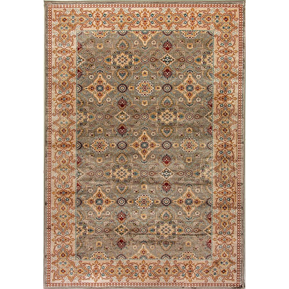 Dynamic Rugs  1998-912 Venice 2 Ft. X 3 Ft. 5 In. Rectangle Rug in Grey