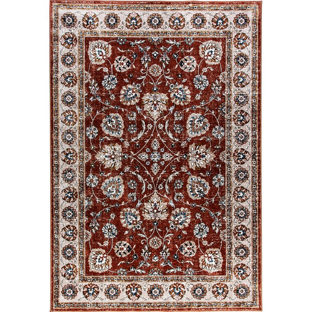 Dynamic Rugs  1338-616 Venice 3 Ft. 6 In. X 5 Ft. 6 In. Rectangle Rug in Rust