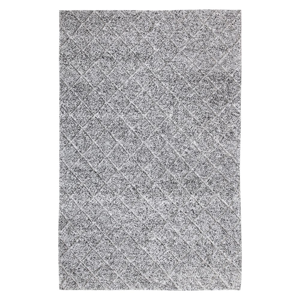 Dynamic Rugs  40801-900 Zest 2 Ft. X 4 Ft. Rectangle Rug in Charcoal/Grey