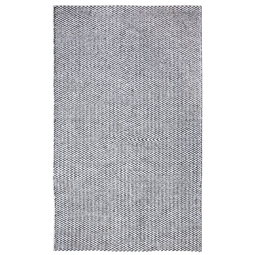 Dynamic Rugs 40803 Zest 2 Ft. X 4 Ft. Rectangle Rug in Charcoal/Ivory