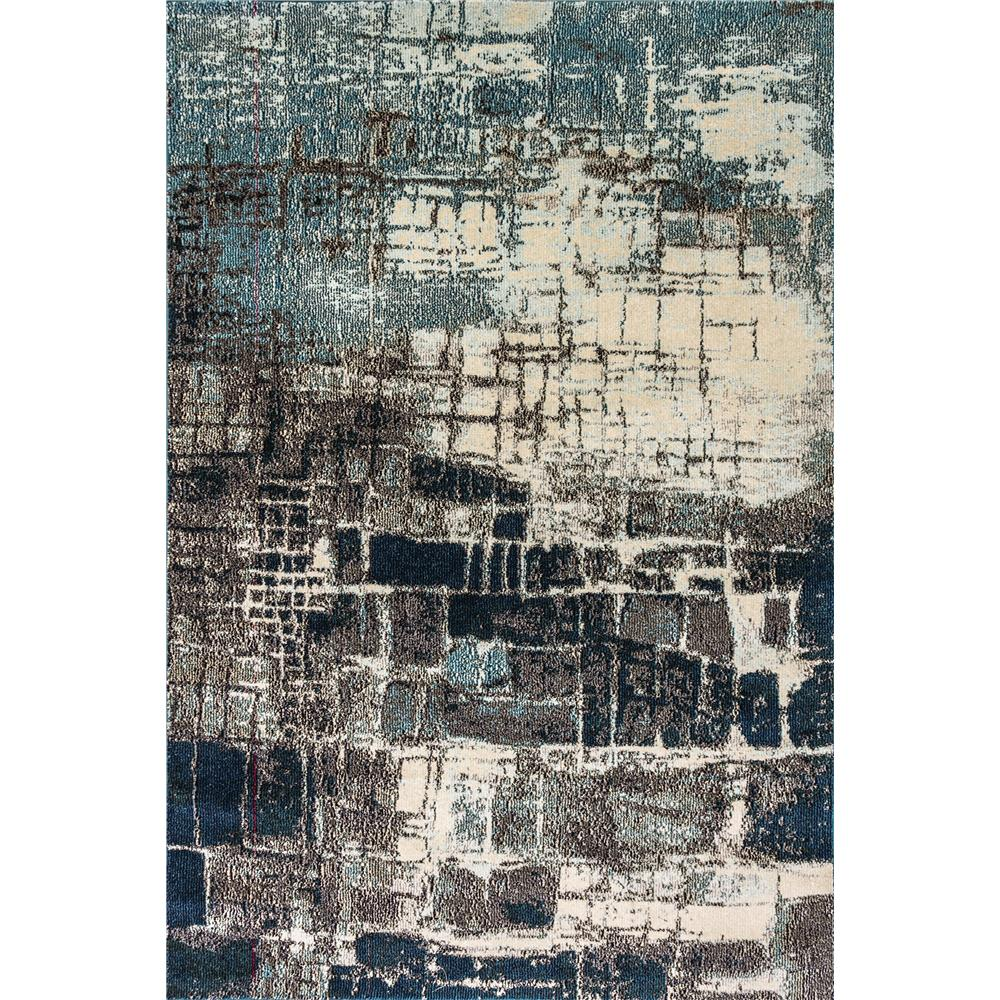 Dynamic Rugs 6624 Zodiac 5 Ft. 3 In. X 7 Ft. 7 In. Rectangle Rug in Grey/Blue