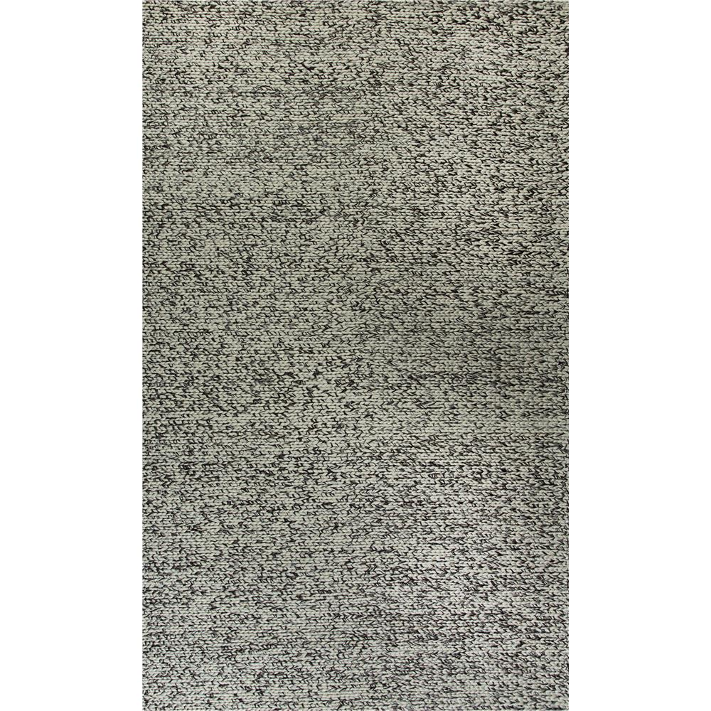 Dynamic Rugs  40804-910 Zest 5 Ft. X 8 Ft. Rectangle Rug in Ivory/Grey