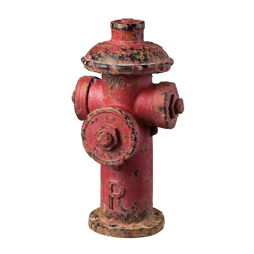 ELK Home 129-1025 Fire Hydrant Décor In Fire Hydrant Red