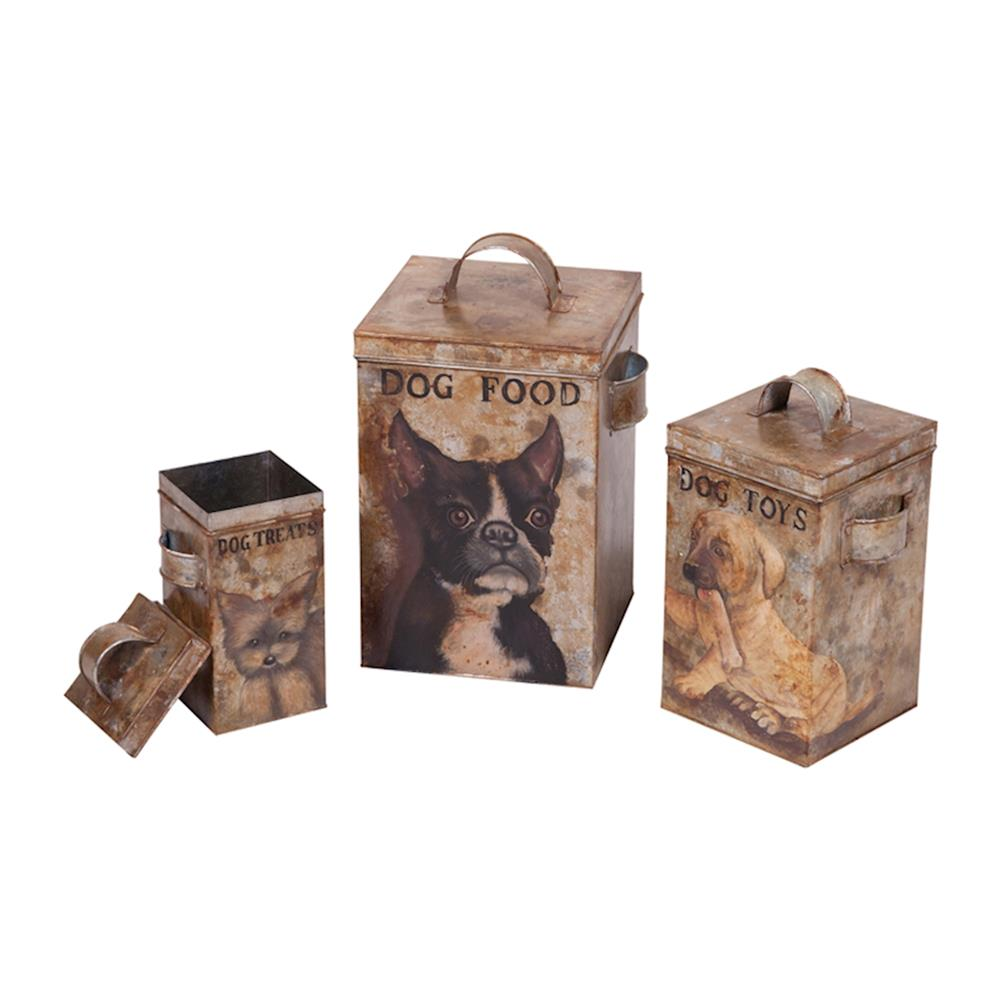 ELK Home 203527S Tin Canisters