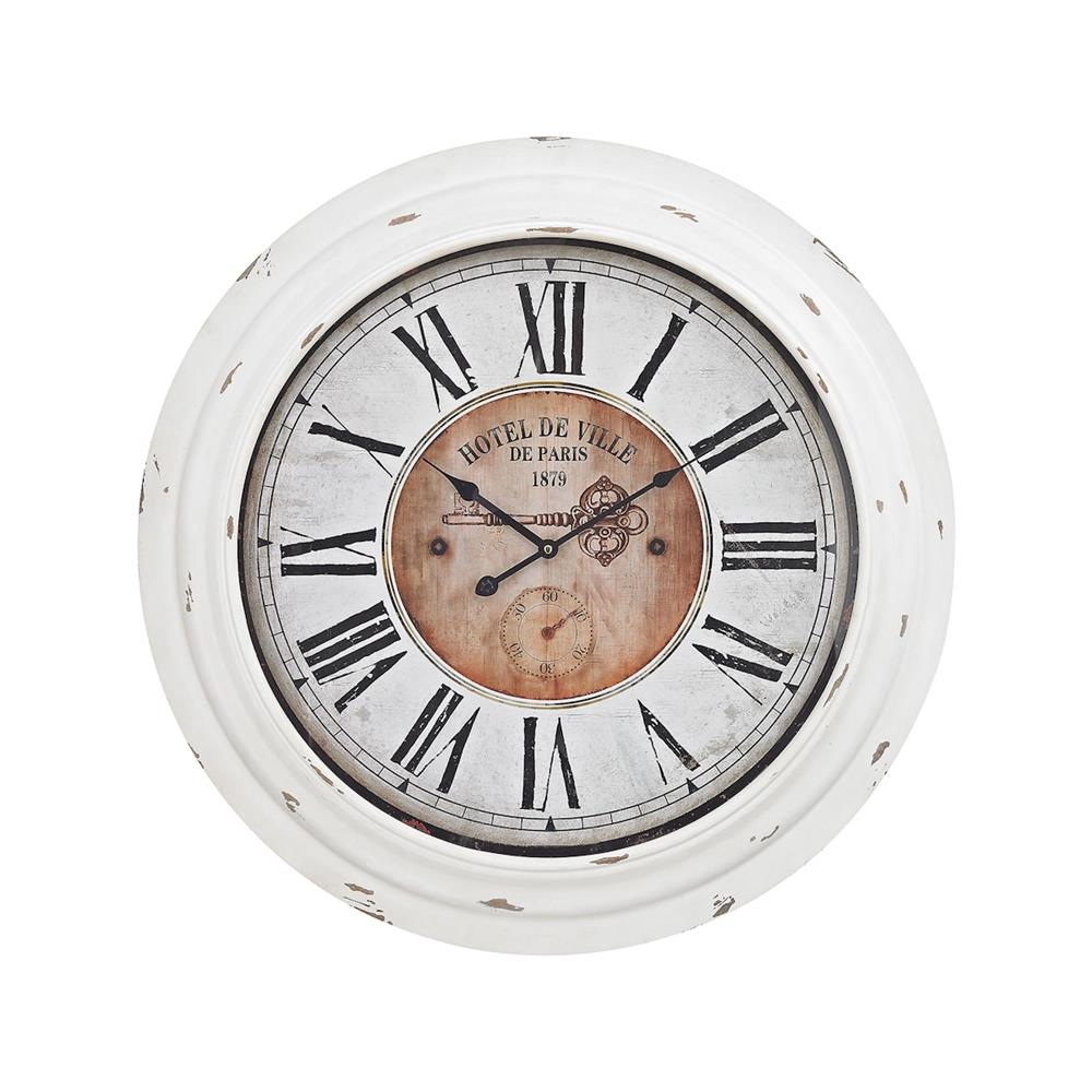 ELK Home 351-10246 Theodore Wall Clock In Antique White