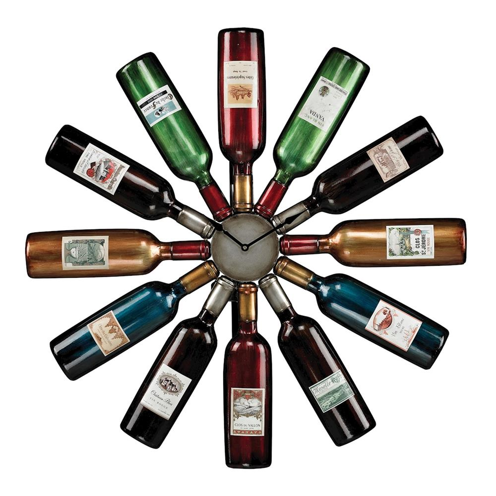 ELK Home 51-10085 Wine Bottle Clock
