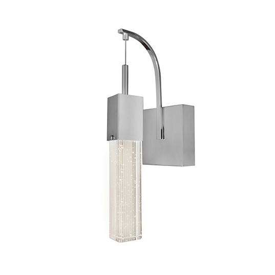 ET2 E22760-89PC Fizz III 1-Light LED Wall Sconce in Polished Chrome