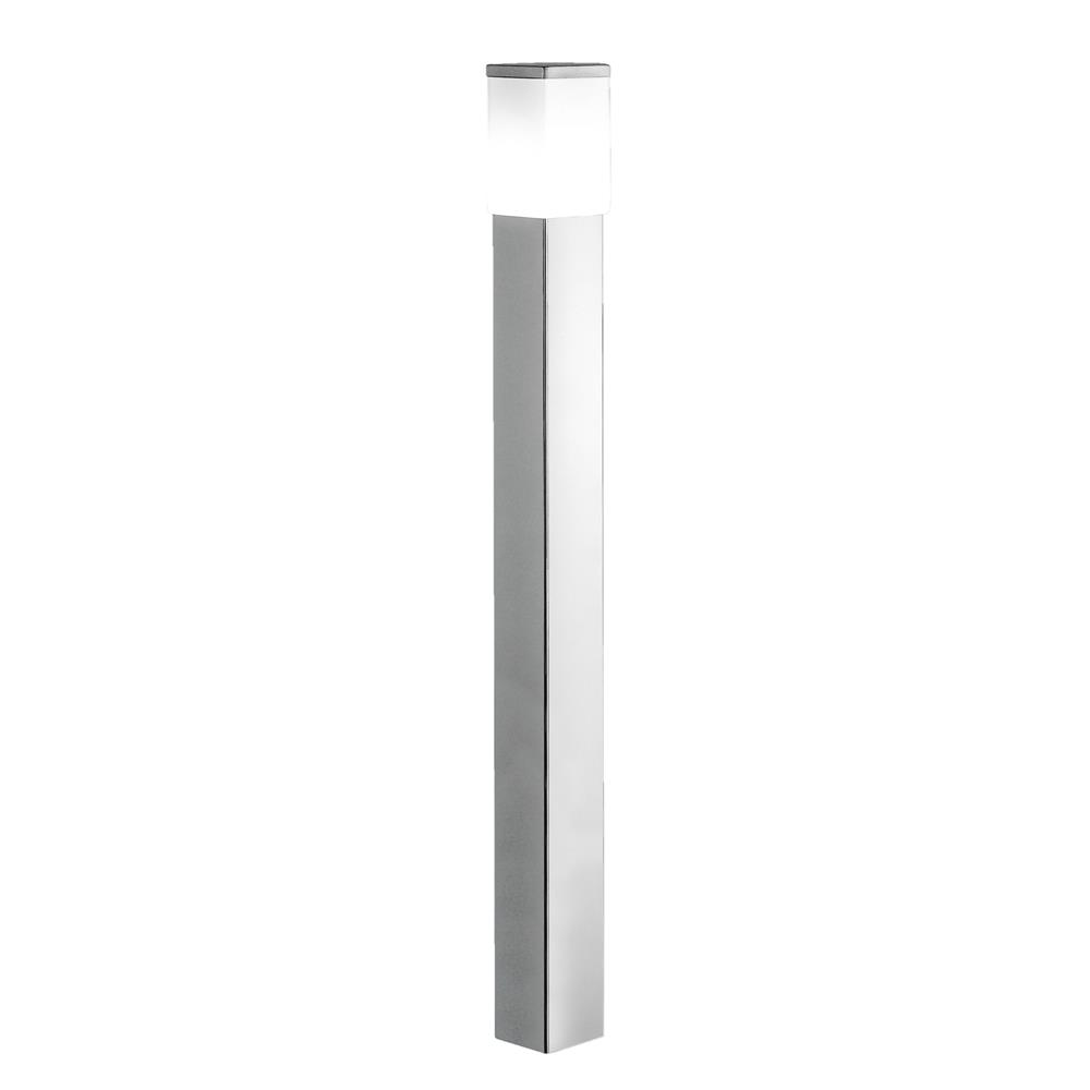 Eglo 86389A  Outdoor Post Light in Stainless Steel