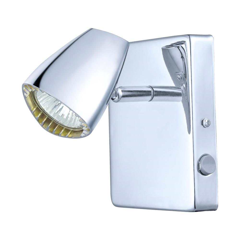 Eglo 93672A  Wall Track Light in Chrome