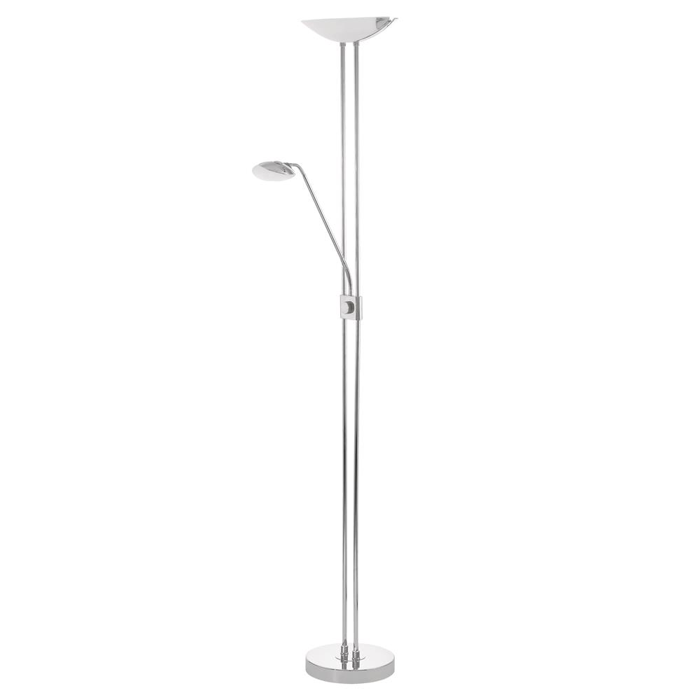 Eglo 93875A  LED Floor Lamp in Chrome