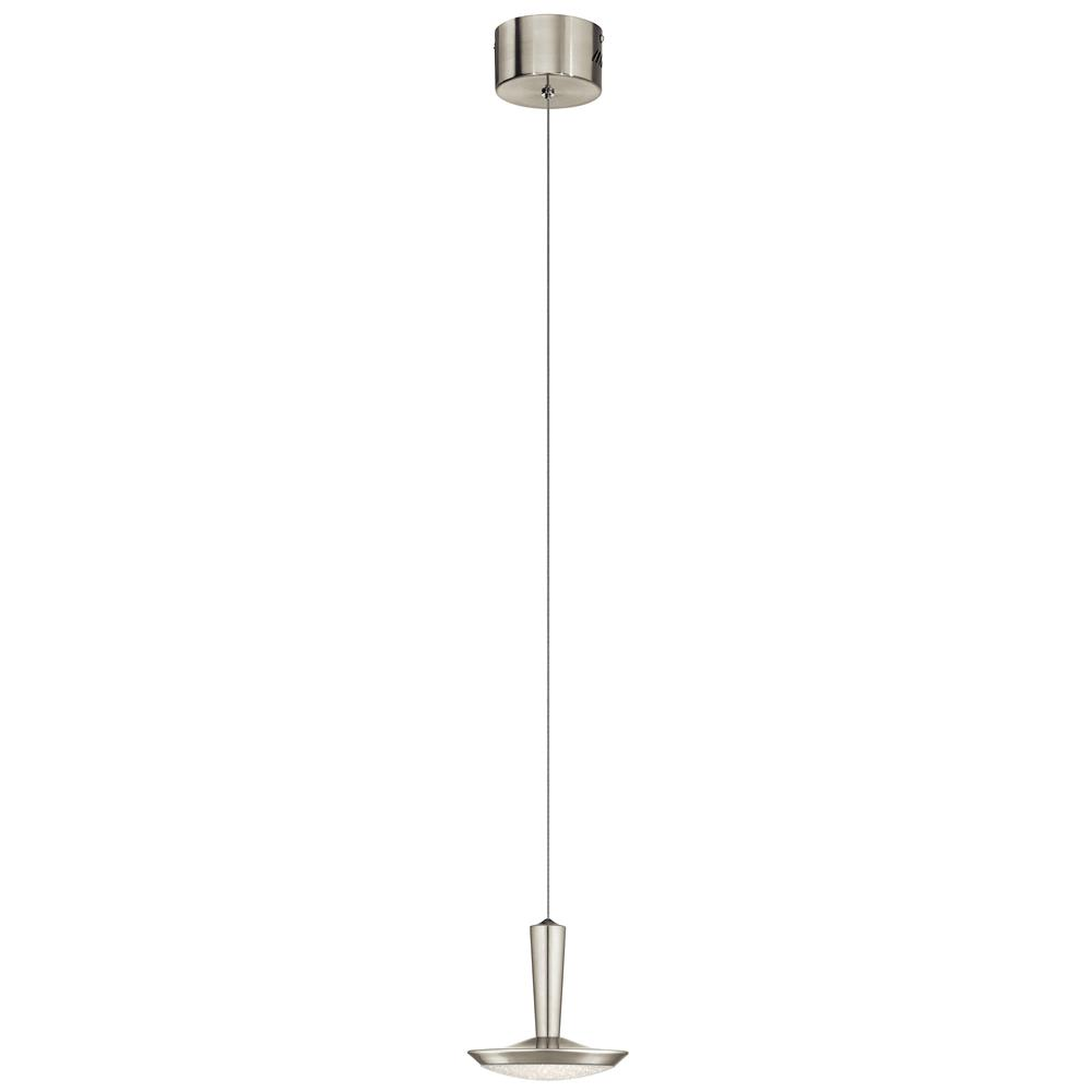 Elan 83691 Karah LED Pendant Brushed Nickel