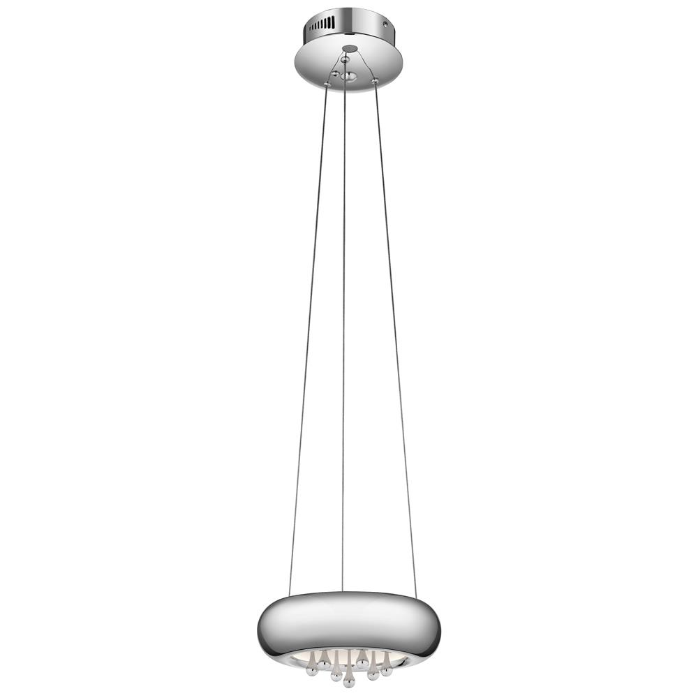 Elan 83729 LED Pendant Chrome