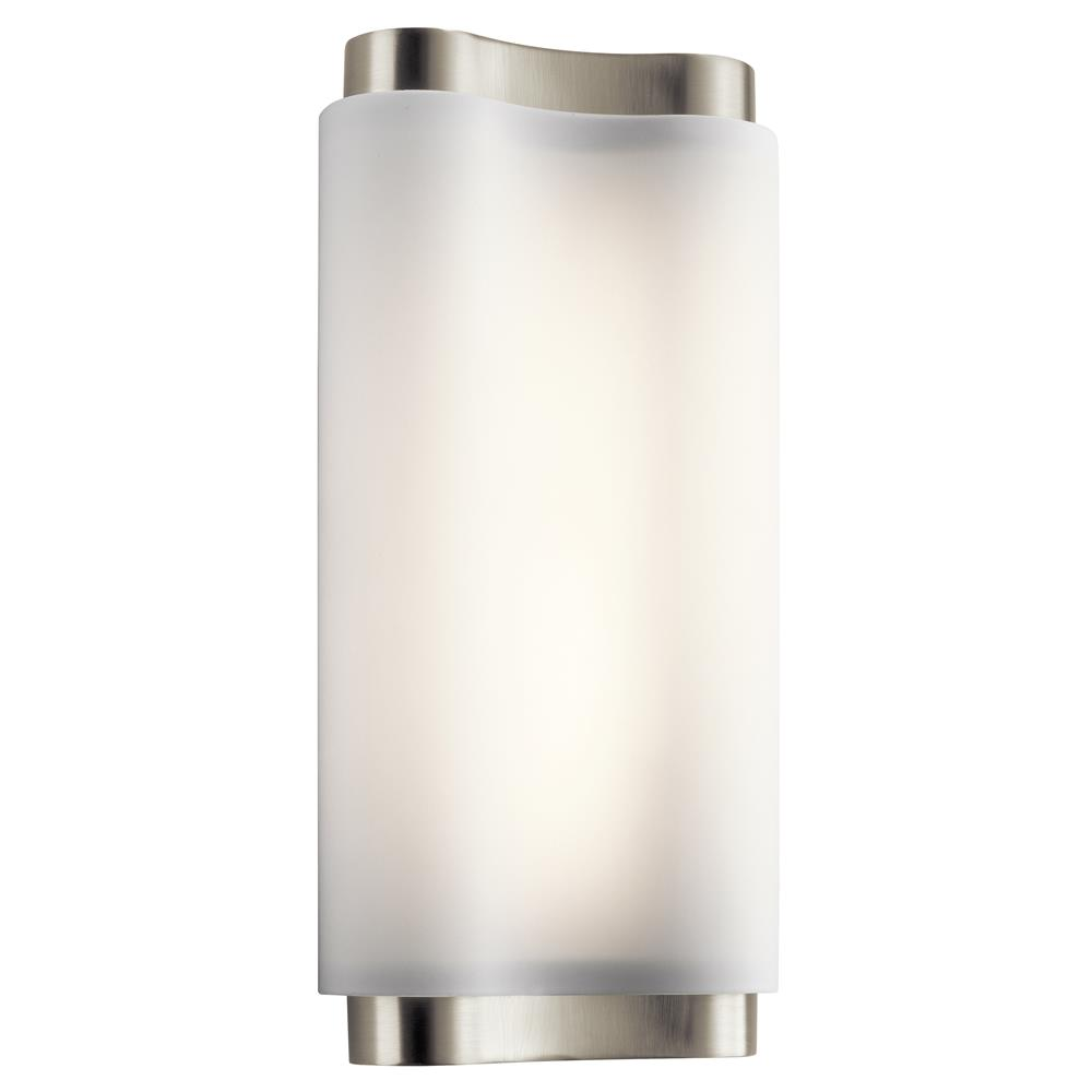 Elan 83762 LED Sconce Brushed Nickel