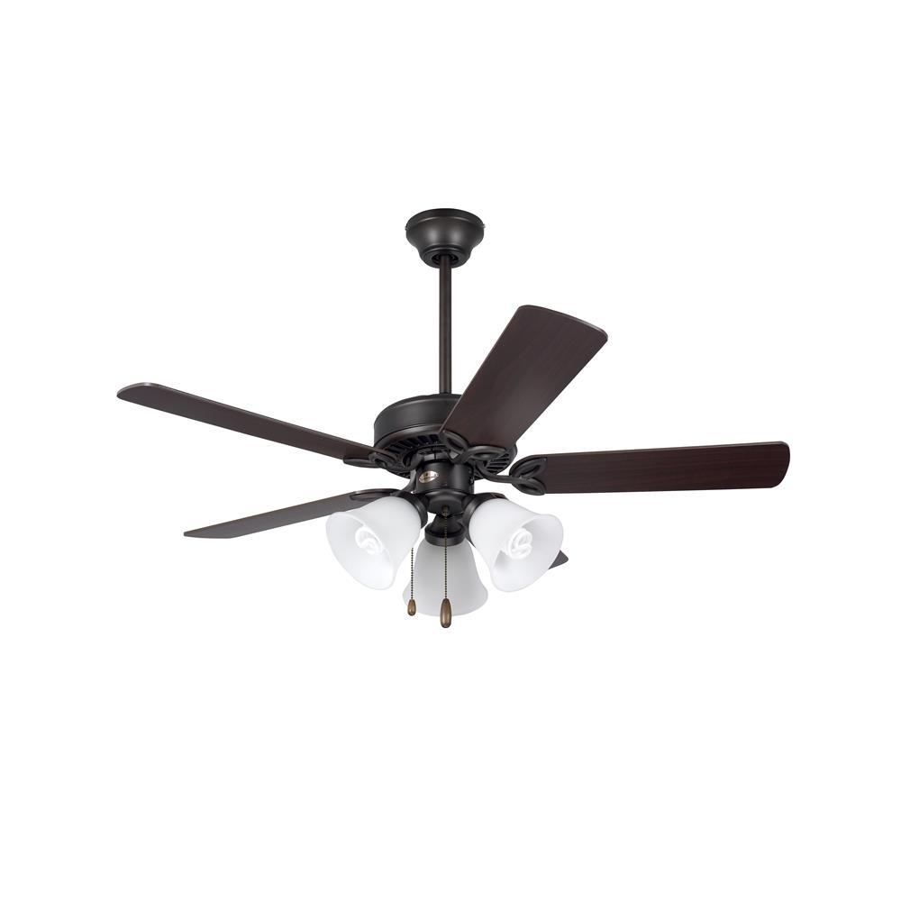 "Emerson CF710ORB 42"" Pro Series II Pro Series  Ceiling fan in Oil Rubbed Bronze with Dark Cherry/Medium Oak blade finish"