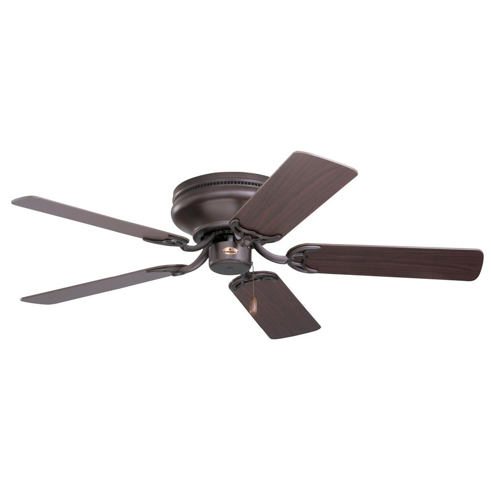 "Emerson CF804SORB 42"" Snugger Traditional  Ceiling fan in Oil Rubbed Bronze with Dark Cherry/Medium Oak blade finish"