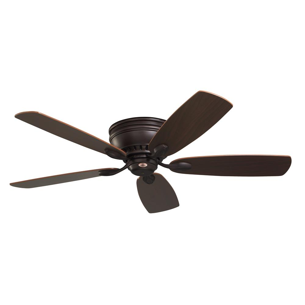 "Emerson CF905ORB 52"" Prima Snugger Traditional  Ceiling fan in Oil Rubbed Bronze with Dark Cherry/Walnut blade finish"