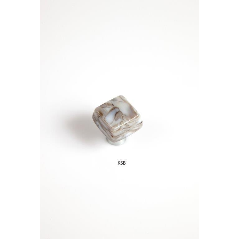 Grace White Glass KSB Kentstone Knob