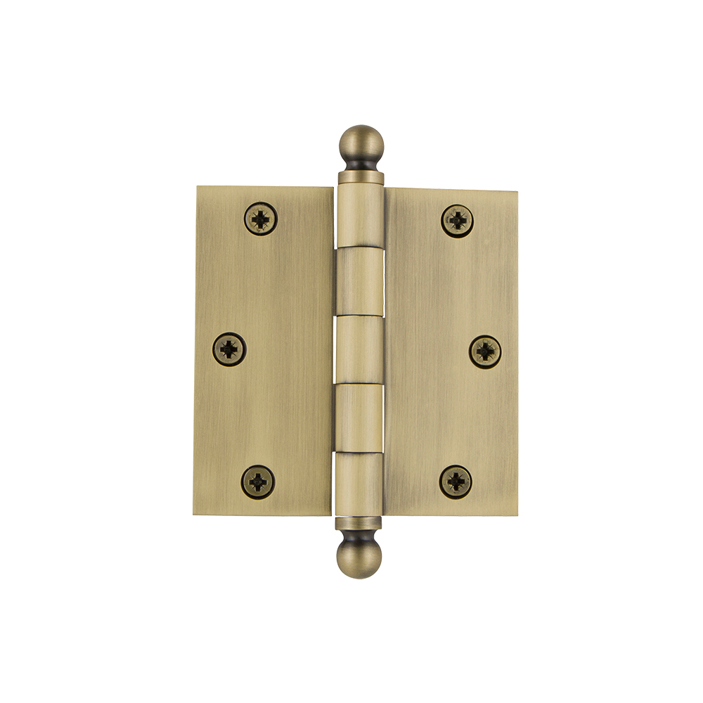 Forge fgehngbtbp 40 Butt Hinge Brass Finish 40 mm Pack de 2 environ 3.81 cm 1.5 in