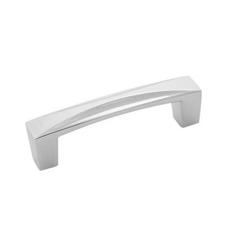 Hickory Hardware H076129-CH Crest Collection Pull 3 Inch Center to Center Chrome Finish