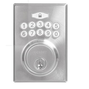 Hickory Hardware H076389-SN Securemote Bluetooth Enabled Deadbolt, Contemporary, Satin Nickel
