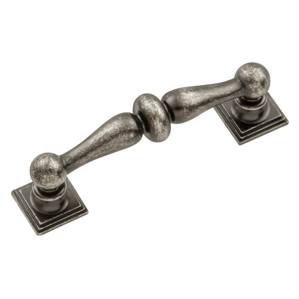 Hickory Hardware HH74549-BNV Somerset Collection Pull 3 Inch Center to Center Black Nickel Vibed Finish