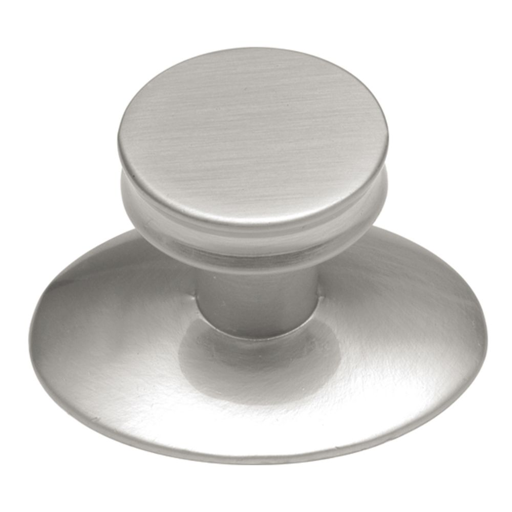 Hickory Hardware K65-SN Metropolis Collection Knob 1 Inch Diameter Satin Nickel Finish