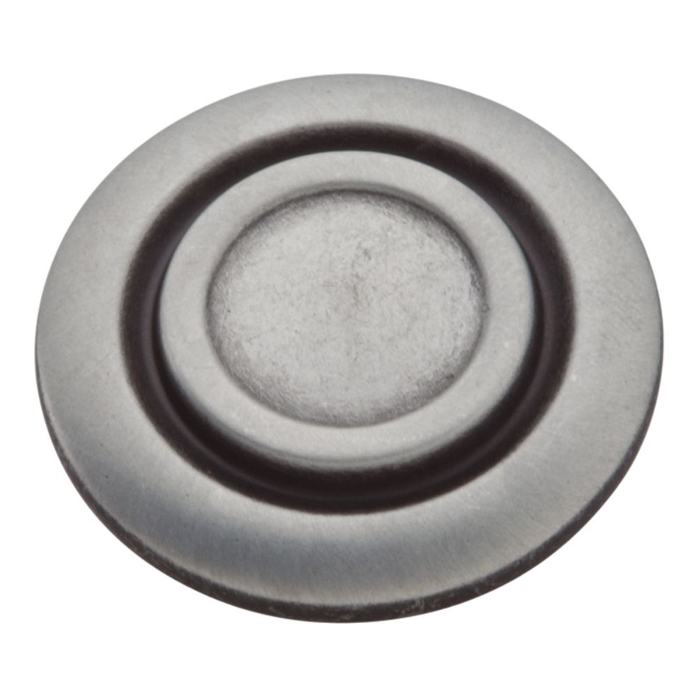 Hickory Hardware P121-AP Cavalier Collection Knob 1-1/4 Inch Diameter Antique Pewter Finish