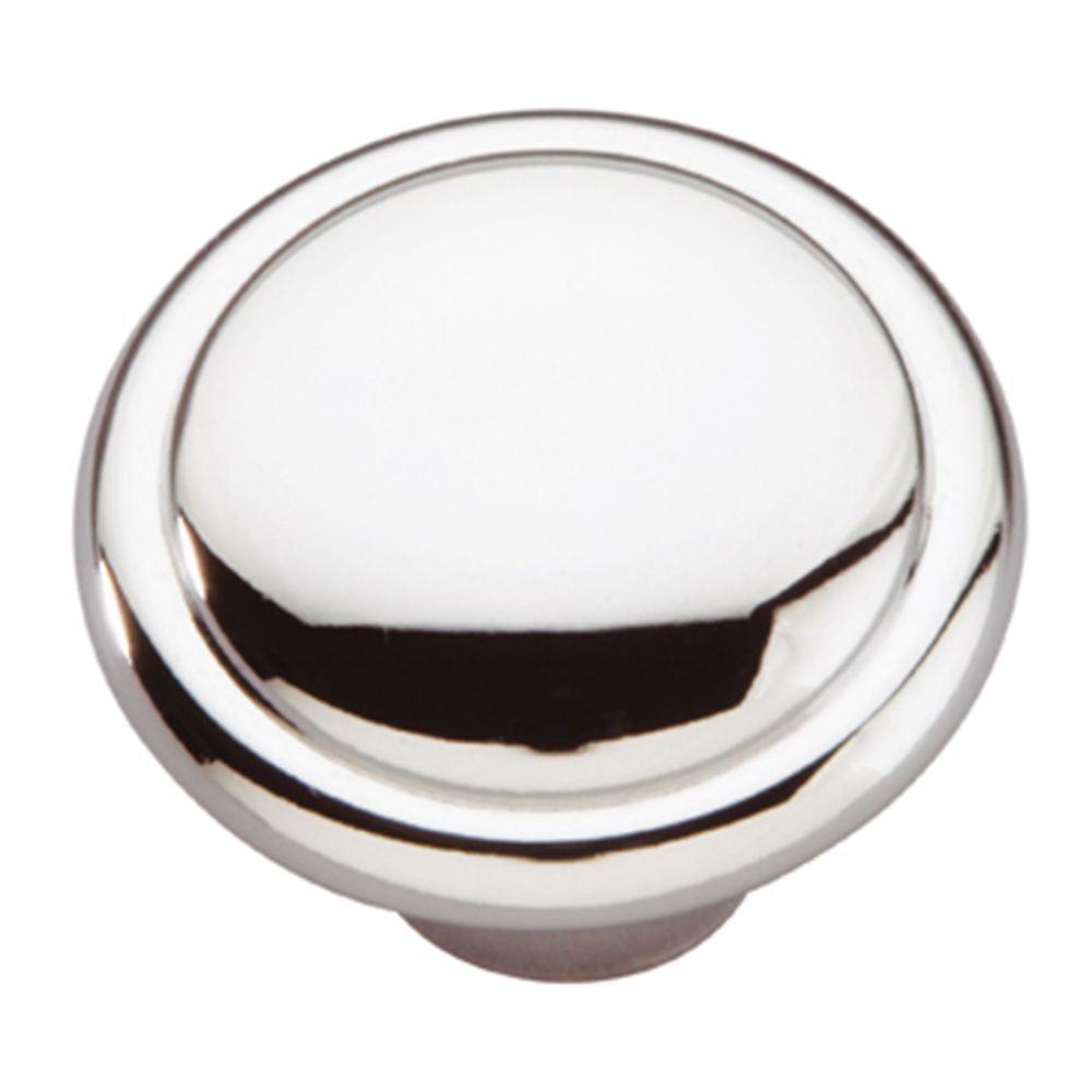 Hickory Hardware P14848-26 Conquest Collection Knob 1-3/8 Inch Diameter Chrome Finish