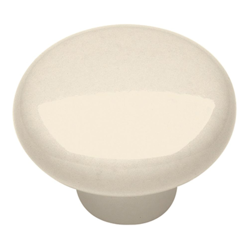 Hickory Hardware P28-LAD Tranquility Collection Knob 1-1/4 Inch Diameter Light Almond Finish