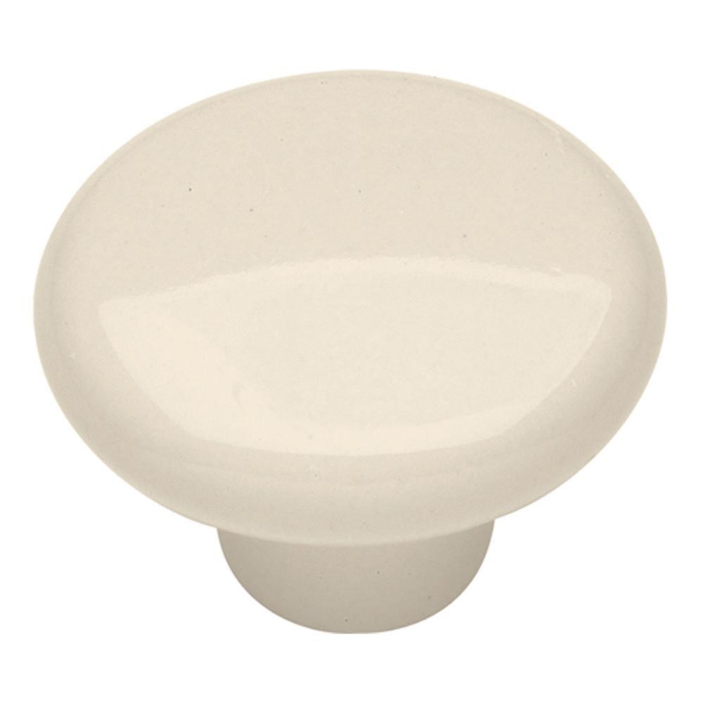 Hickory Hardware P29-LAD Tranquility Collection Knob 1-1/2 Inch Diameter Light Almond Finish