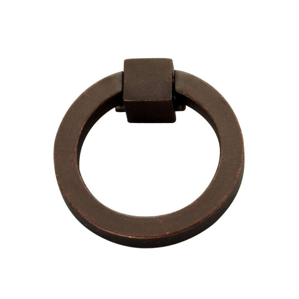 Hickory Hardware P3190-DAC Camarilla Collection Ring Pull Dark Antique Copper Finish