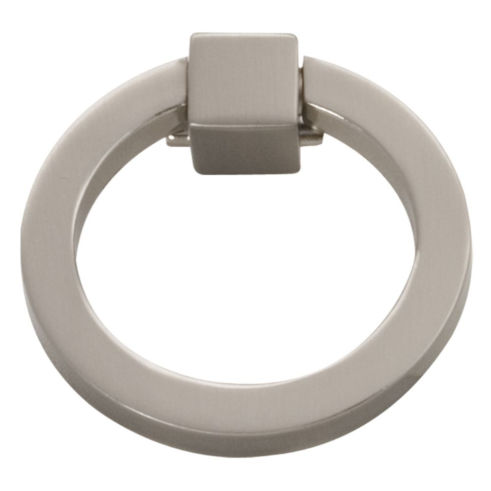 Hickory Hardware P3190-SN Camarilla Collection Ring Pull Satin Nickel Finish