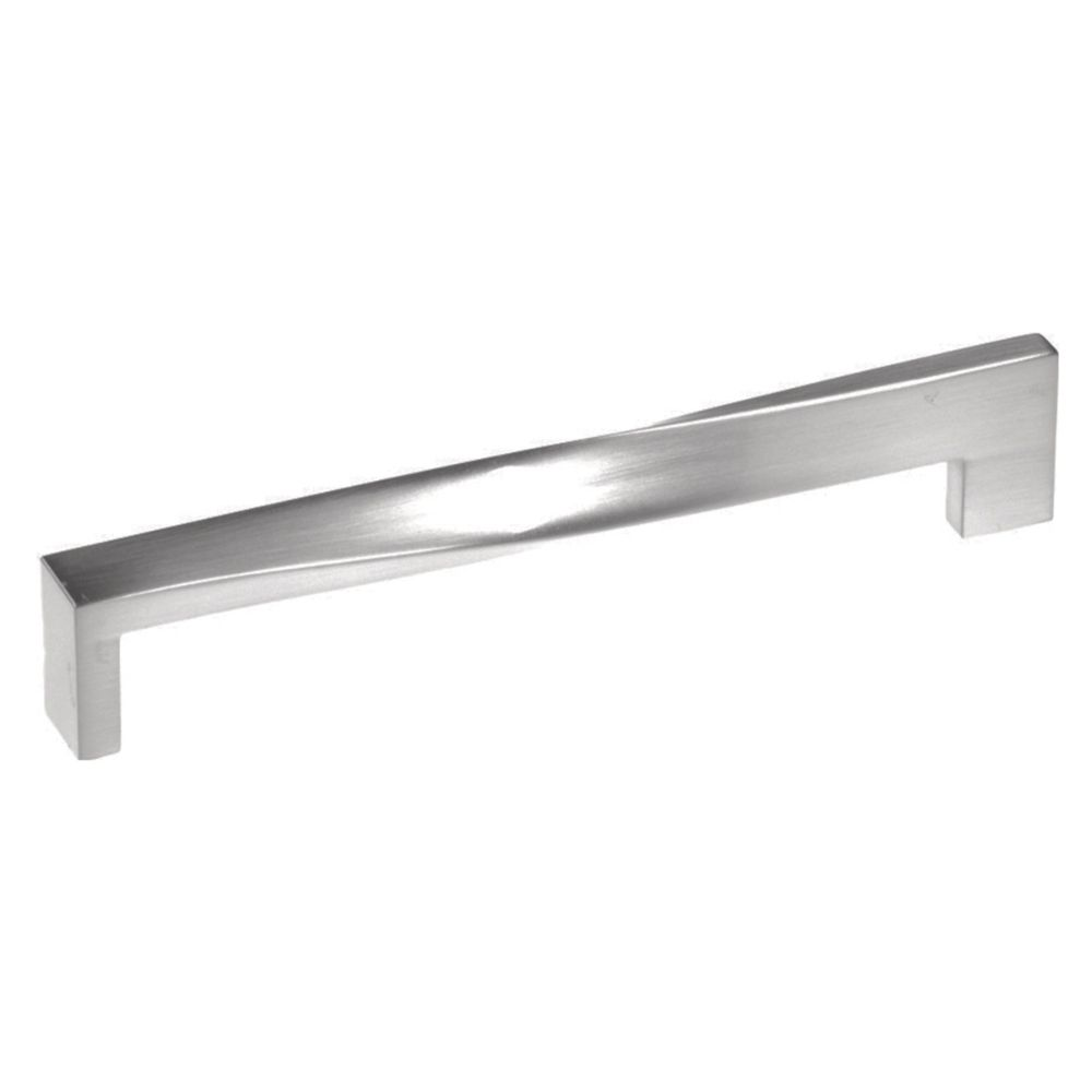 Hickory Hardware P3615-SN Metro Mod Collection Pull 5-1/16 Inch (128mm) Center to Center Satin Nickel Finish