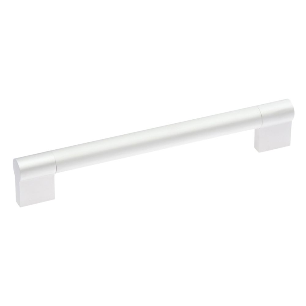 Hickory Hardware P3691-SP Mito Collection Pull 6-5/16 Inch (160mm) Center to Center Satin Pearl Finish