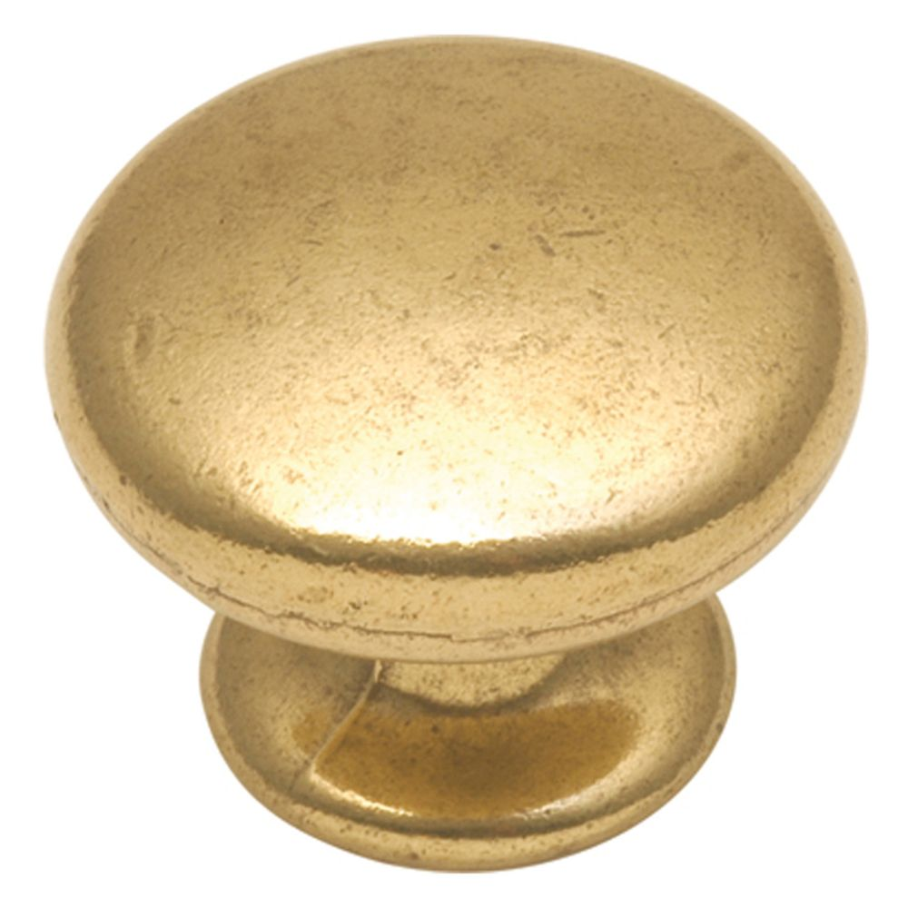 Hickory Hardware P406-LP Manor House Collection Knob 1-1/4 Inch Diameter Lancaster Hand Polished Finish