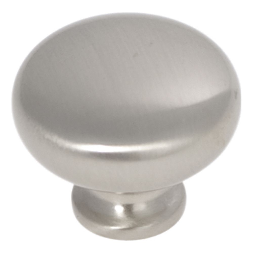 Hickory Hardware P771-SN Cottage Collection Knob 1-1/4 Inch Diameter Satin Nickel Finish