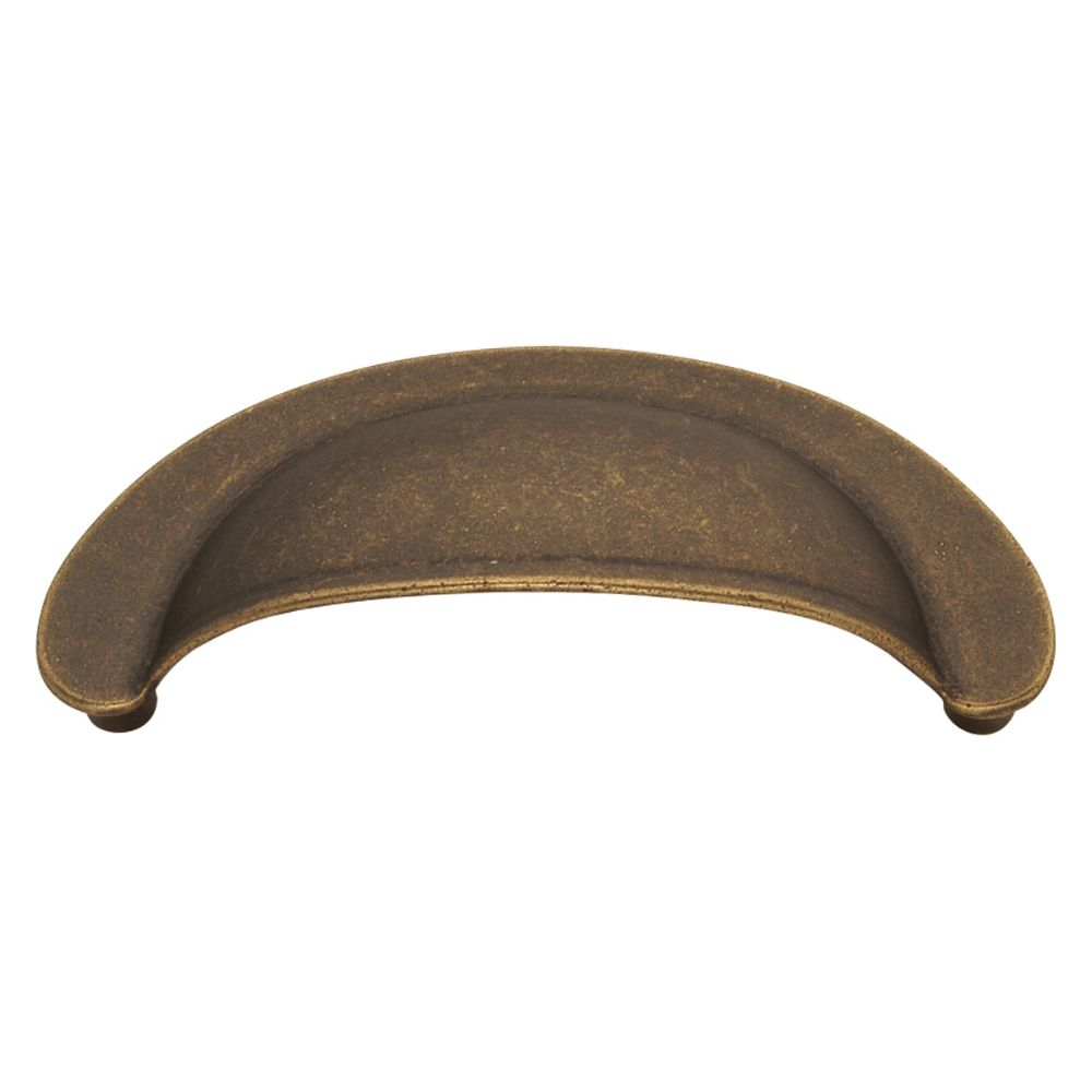 Hickory Hardware PA1021-WOA OxFord Antique Collection Cup Pull 2-3/4 Inch Center to Center Windover Antique Finish